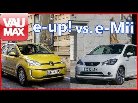 2020 VW e-up! vs. SEAT Mii electric - Ist der Volkswagen den Mehrpreis zum e-Mii wirklich wert?