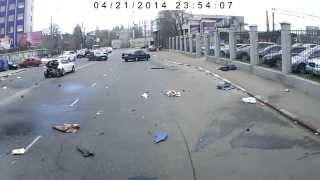Жуткая авария в Одессе ...