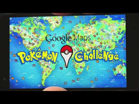 Výzva od Google Maps