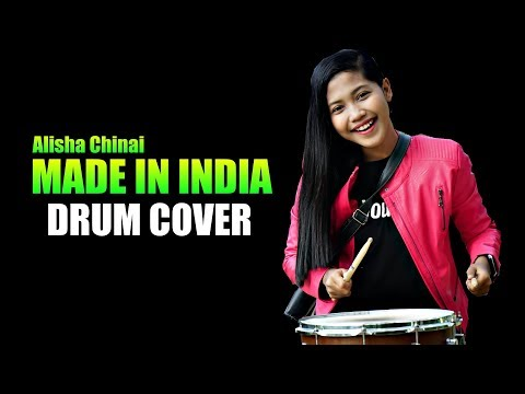 Alisha Chinai - Made In India Drum Cover By Nur Amira Syahira