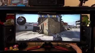 "Acer Predator Z35 monitor review - 35"" curved 2560x1080 VA with 200Hz G-Sync - By TotallydubbedHD"