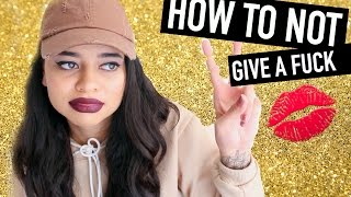 HOW TO NOT GIVE A FUCK  :) by Simplynessa15