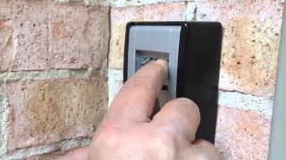 Abus Key Garage 787 Install video