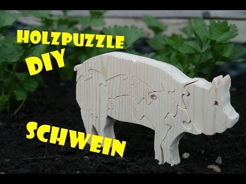 Vlog_017: Holz Puzzle DIY mit der Dekupiersäge