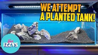 Adding a Planted Tank to the Mega Garage!
