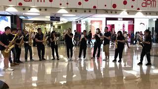 願榮光歸香港 獅子山下 Apm 快閃flashmob saxophone satb cover