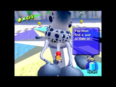 Here's Super Mario Sunshine Being Played At A Silky Smooth 60fps