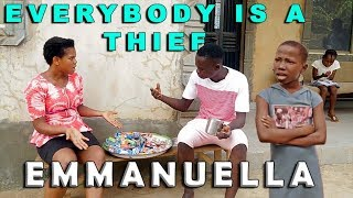 EMANUELLA & GLORIA EVERYBODY IS A THIEF (mark angel comedy) (mind of freeky comedy)
