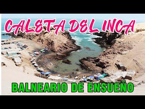 CALETA DEL INCA: Balneario de ensueño