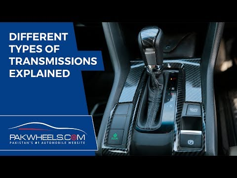 Different Types of Transmissions Explained