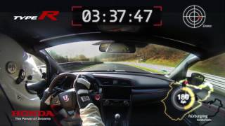 Another record This time on Tarmac The 2017 Honda Civic Type R