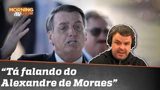 Chantagem? Adrilles explica tweet de Bolsonaro