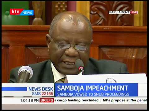 """""""Committee will proceed without interference from any arm of Government,"""" says Njeru Ndwiga"""