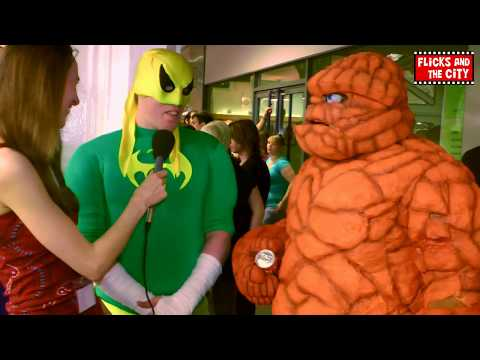 Fantastic Four's The Thing & Iron Fist Cosplay Interview | MTW