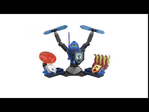 Конструктор Клэй – Абсолютная сила - LEGO NEXO KNIGHTS - фото № 6
