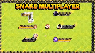 CLASH OF CLANS NEW SNAKE GAME MODE UPDATE w/ GAMEPLAY