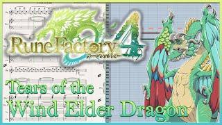 "New Transcription: ""Tears of the Wind Elder Dragon (Arrangement)"" from Rune Factory 4 (201"