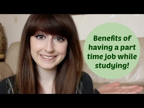 the advantages and benefits of working with a part time job while in college Part-time jobs for students: a good idea i, being employed with a part-time job, truly do believe that there is no wrong in having a part-time job while being a student i honestly think that it is an awesome, great idea for students to have part-time jobs before they graduate from high school -- if they have the time and resources to do so.