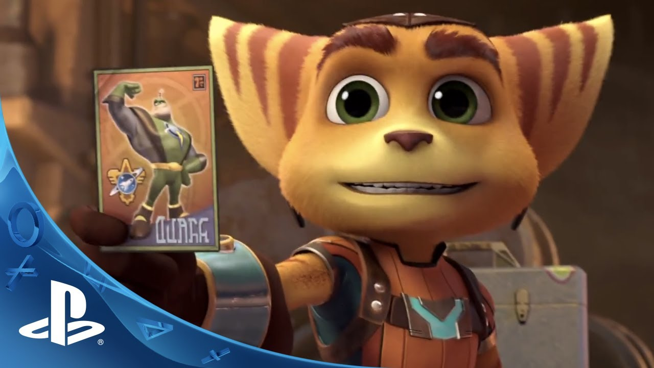 Ratchet & Clank Announced for PS4