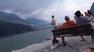 Рыбалка в италии на озере гарде