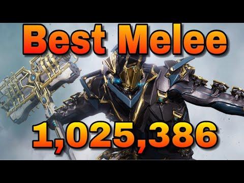 WARFRAME Best Melee Weapon Lesion (INSANE DMG) - игровое