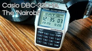 "Casio Calculator Watch DBC-32D-1A - The ""Nairobi"", geek watch FTW"