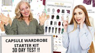 Surprising My Mom w/ Capsule Wardrobe + 30 Day Wear Test !!
