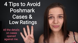 4 Tips to Avoid Poshmark Cases and Low Ratings