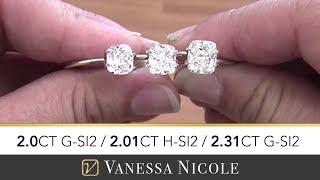 2ct CUSHION CUT DIAMONDS | Diamond Selection For John