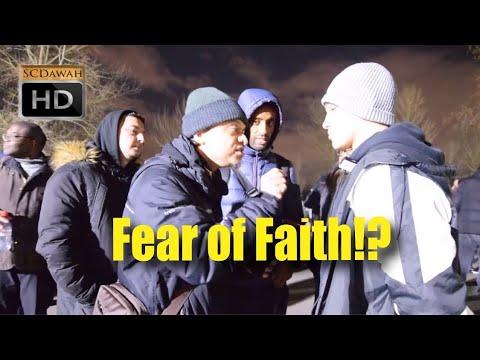 Fear of Faith!? Mansur & Young Christian! | Speakers Corner | Hyde Park