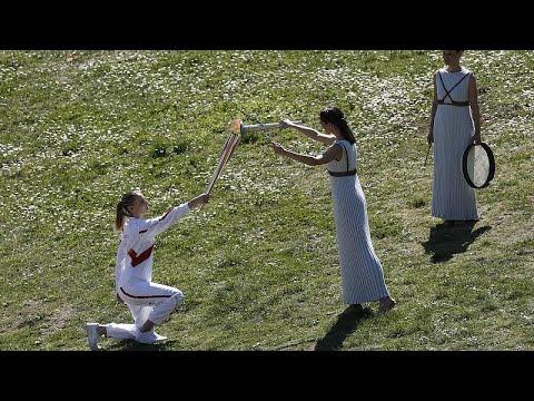 Ακυρώνεται η Ολυμπιακή Λαμπαδηδρομία στην Ελλάδα