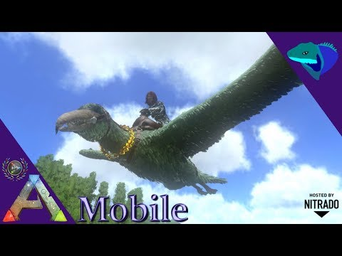 Ark Survival Evolved How To Tame Pelagornis - Mortal T - Video