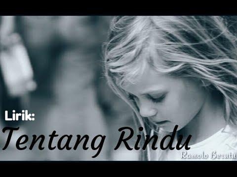 Lirik lagu Virzha-Tentang Rindu