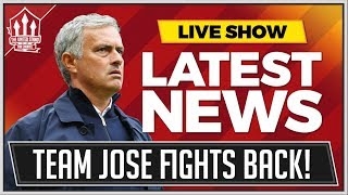 United Star Backs Mourinho! Man Utd News Now