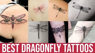 Top 40 Best Dragonfly Tattoos