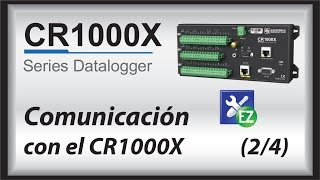 cr1000x datalogger getting started | communicate (part 2)