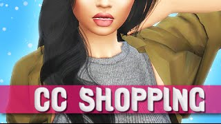 THE SIMS 4 || CC SHOPPING | TONS OF HAIRS, HAIRLINES, FALL ESSENTIALS + MUCH MORE!