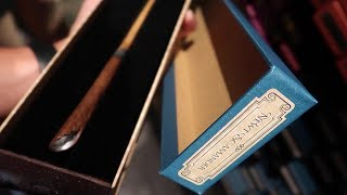 Checking Out The New Fantastic Beasts Wands In Ollivanders!