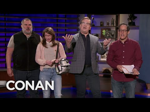Conan's Staff Forgot About National Boss Day - CONAN on TBS (видео)