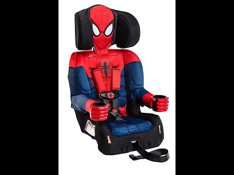 KidsEmbrace Spider Man Car Seat Booster Marvel Combination High Back Removal
