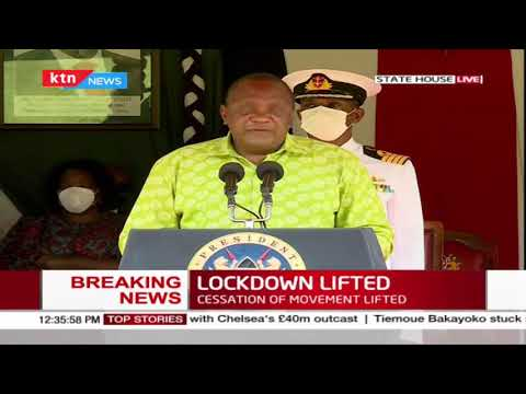 """""""Nobody enjoys the situation that we are in"""", President Uhuru"""