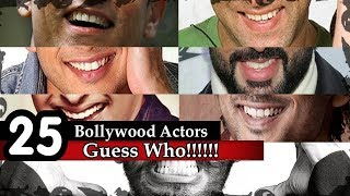 Guess The Bollywood Actor - 25 Bollywood Actors | Guess them from their Smiley Face