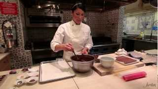 Chocolate Truffle Recipe Tutorial Demonstration: How to Make Soft Ganache and Firm Ganache Truffle