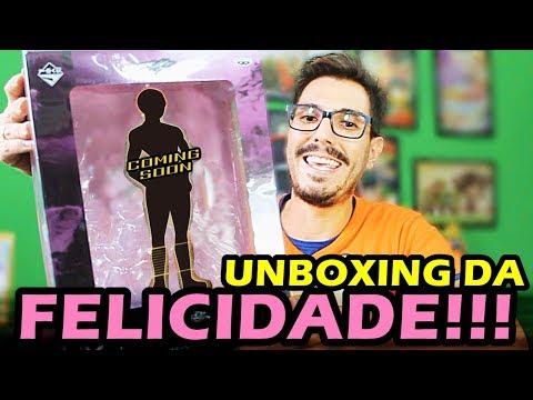 UNBOXING DA FELICIDADE 4!! CHUVA DE METAL