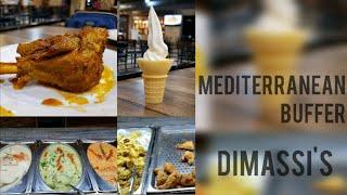 Mediterranean Buffet - Dimassi's Mediterranean Restaurant 🍗🥗🍢