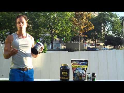 Lensemble des poussées pour la croissance des muscles