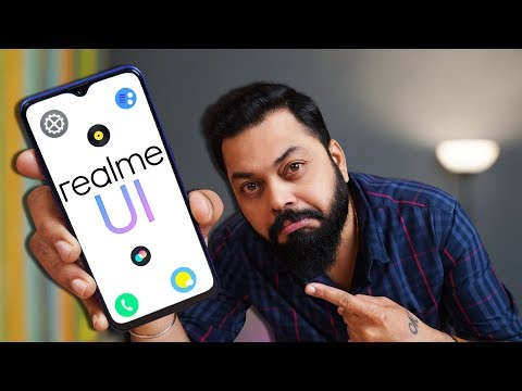 realme UI Update Hands-On & First Look ⚡⚡⚡Stock Android,Dark Mode, Android 10 & More