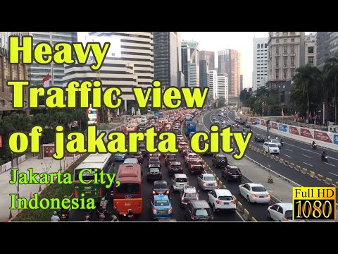 JAKARTA City Visit A Beautiful City In Indonesia