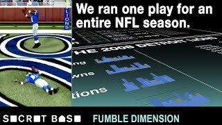 We made the winless Lions throw to only Calvin Johnson for the entire season | Fumble Dimension thumbnail