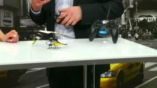 "Simulus Funk-Ferngesteuerter 4-Kanal-Mini-Hubschrauber""GH-624"" 2,4 GHz"